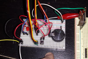 Prototype on Breadboard